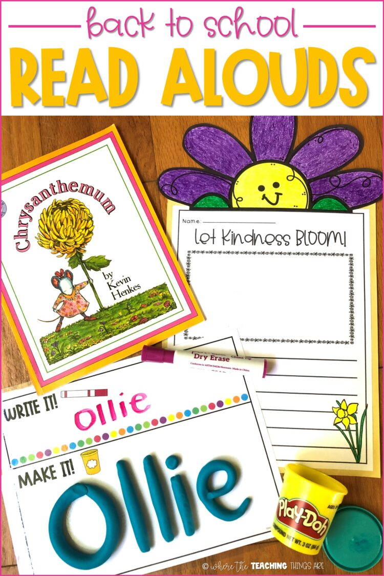 Favorite Back to School Read Alouds