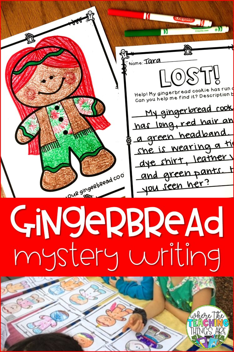 Gingerbread Mystery Writing