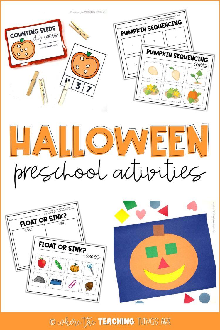 Hands-on Halloween Activities!