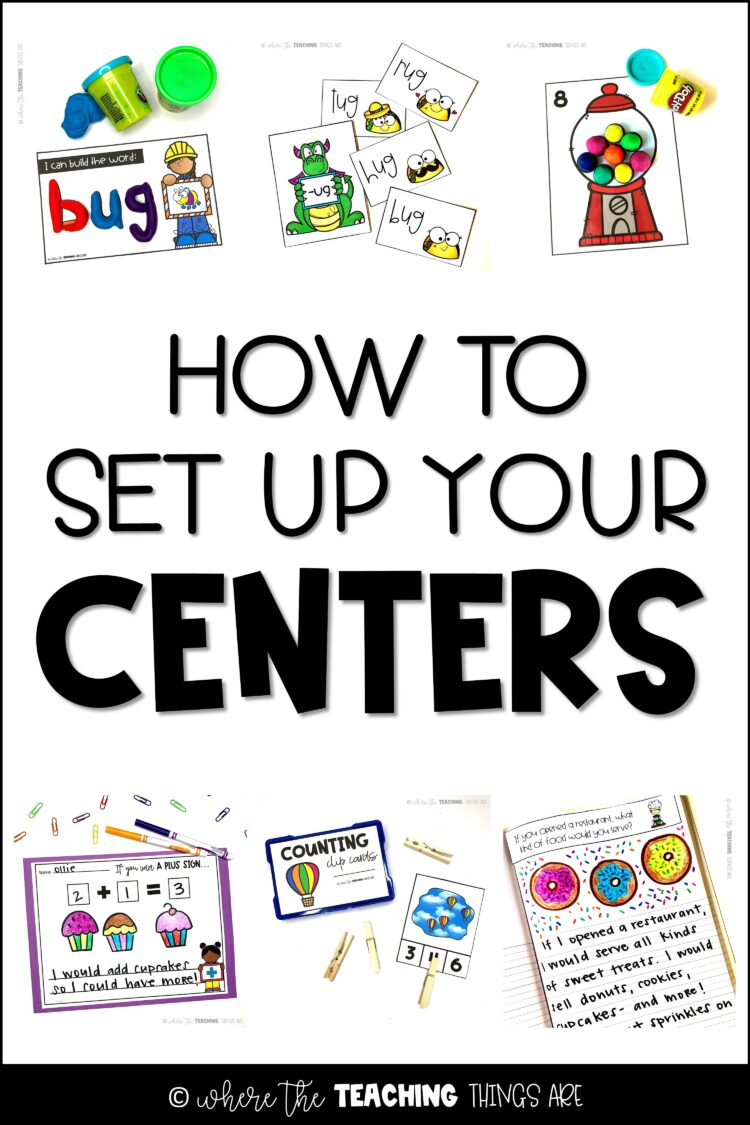 How to Set Up Your Centers