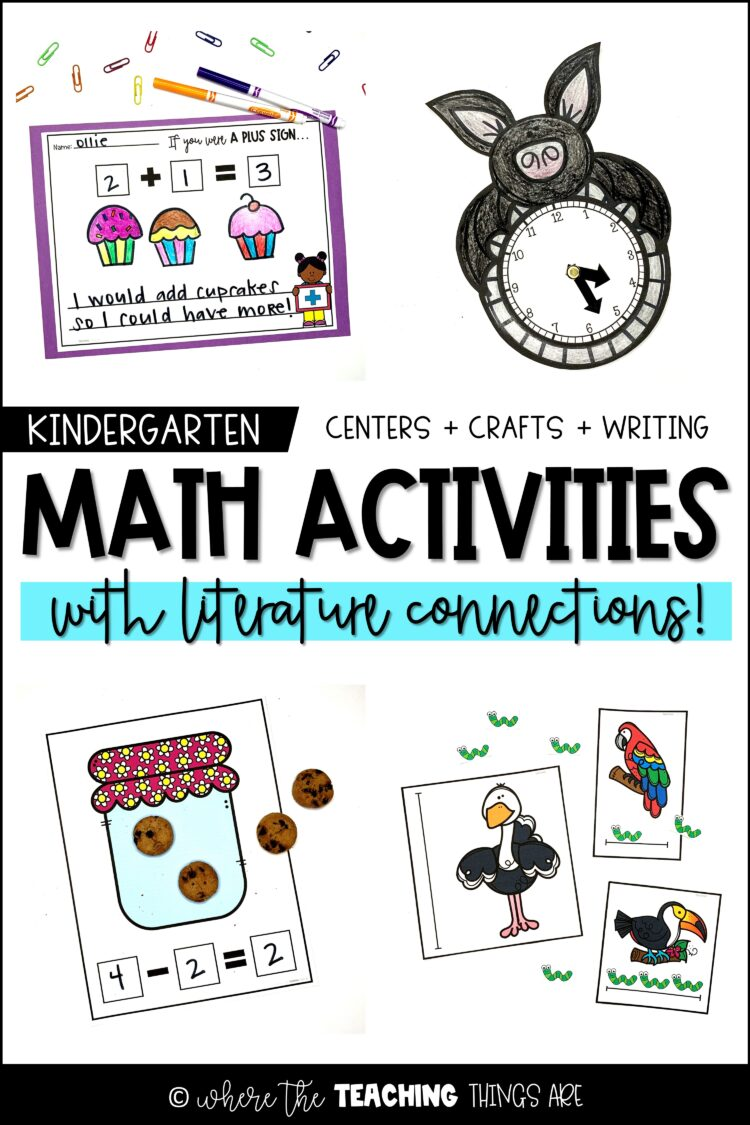 Math Activities – with Literature Connections!