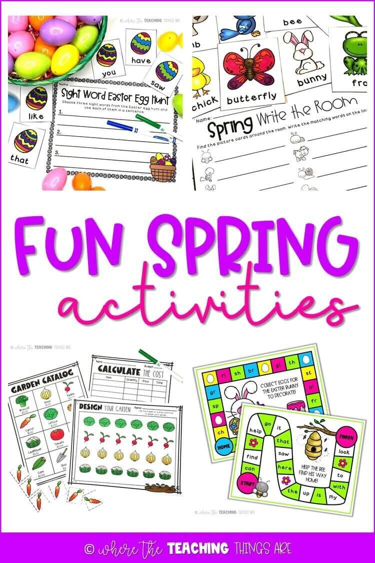 Five Fun Spring Activities
